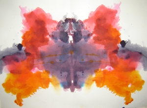 Rorschach Painting Blot Preparation